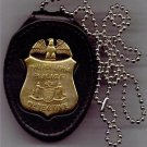 Philadelphia Police Detective Badge Large Neck Hanger (Badge Not Included)
