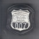NYS TBTA Police Officer's Badge Cut-Out Belt Clip - (Badge Not Included)