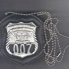 NYS TBTA Police Officer Badge CutOut Neck Hanger w/Chain - (Badge Not Included)