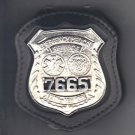 NYC EMS Police Officer's Style Badge Cut-Out Belt Clip - (Badge Not Included)