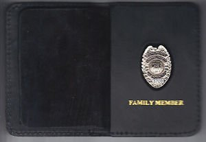 NYPD-Style-School Safety Family Member Badge Book Wallet (with # random Mini)