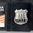 NYPD-Officer-Style Shield Tri-Fold DL/Money/CC Wallet (badge NOT included) CT10