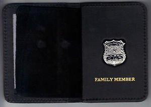 Nassau County Police (NY) Officer's Family Member Book Wallet (w/Mini badge)