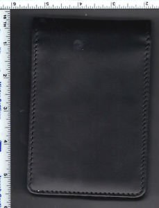 Detective's Dual-Pad Leather Memo Book - with 2 Pads of memo paper included