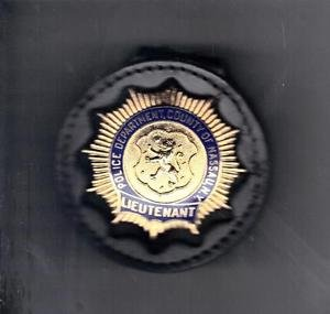 Nassau County (NY) Police Lieutenant Badge Belt Clip (Badge Not Included)