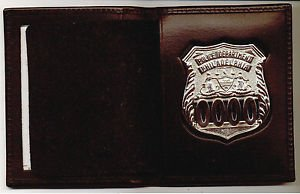 Philadelphia Police Officer Shield/ID Medium Book Wallet (Badge Not Included) ST