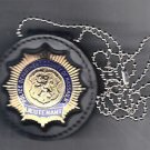 Nassau County Police Lieutenant Badge Neck Hanger/Belt Clip Badge Not Included