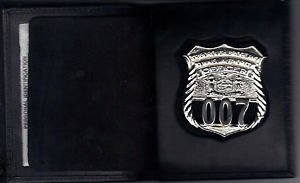 NYS TBTA Police Officer Shield/ID Medium Book Wallet (Badge Not Included) Cobra