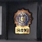 NYS Senior Court Officer Tri-Fold money/cc Wallet (Badge Not Included) CT09