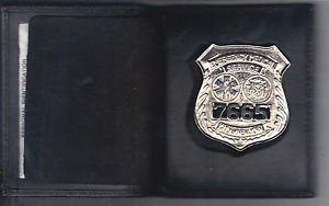 NYC EMS Officer Style Shield/ID Medium Book Wallet (Badge Not Included) Cobra
