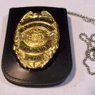 NYPD-Style School Safety Shield/ID Card Neck Holder (Badge/ID Card Not Included)