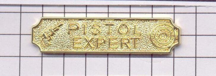 Police Department Pistol Citation Bar