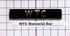 Police Department - World Trade Center Memorial Citation Bar