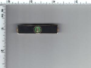 Police Department - U.S. Army Service Bar (military clutch Back)