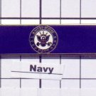 Emergency Medical Service - U.S. Navy Service Bar (military clutch Back)