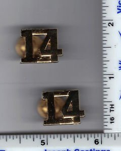 CAGNEY & LACEY Television Show - NYC 14th Precinct Gold Collar Brass Set