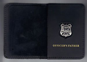 Westchester County Police (NY) Officer's Father Book Wallet (with Mini badge)