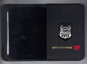 Westchester County Police (NY) Officer's Wife Book Wallet (with Mini badge)