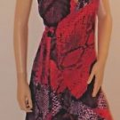 Stunning Imported Brazilian Ruffled Wrap Dress SzM