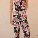 2 Piece Bustier Strapless Top & Capri Outfit Kelly & Diane Sz4