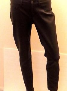 Soft 5 Pocket Black Faux Leather Style Skinny Pants Sz2