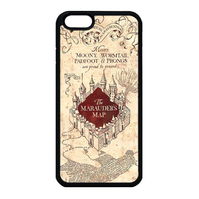 Harry Potter Marauders Map iPhone 5 Case, iPhone 5s Case