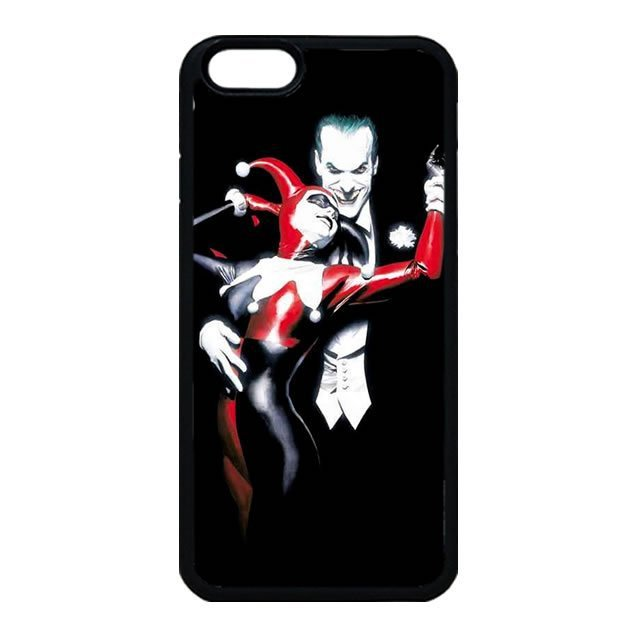 The joker and Harley Quinn iPhone 4 Case, iPhone 4s Case