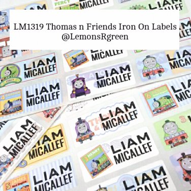 LM1319 Thomas n Friends Iron On Labels