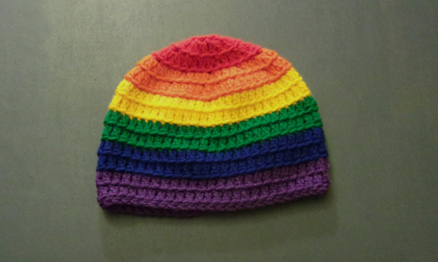 S Rainbow Gay Pride LGBT Winter Beanie