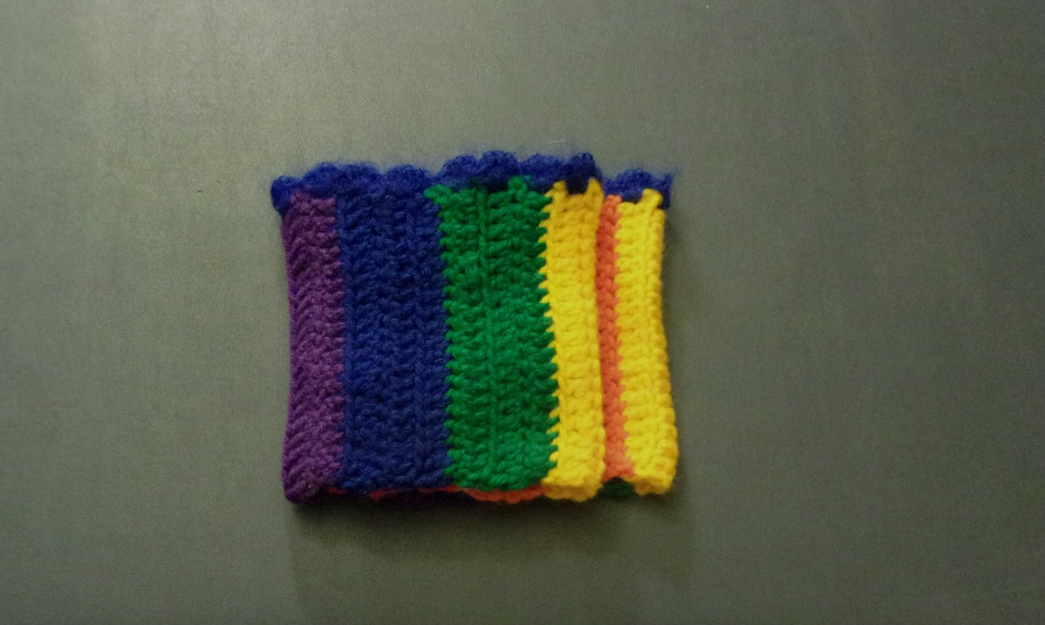 OSFM Rainbow Gay Pride LGBT Boot Toppers/Boot Cuffs with Blue Trim