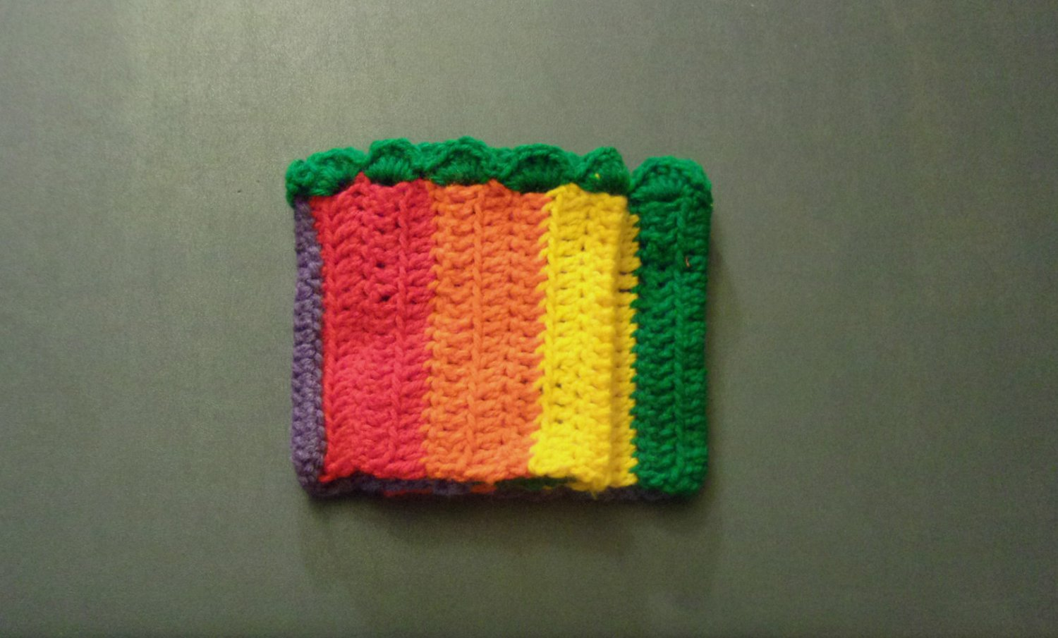 OSFM Rainbow Gay Pride LGBT Boot Toppers/Boot Cuffs with Green Trim