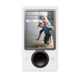 Microsoft 30 GB Mp3 Music/Video Player White
