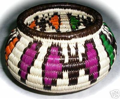 Wounaan & Embera Indian Woven Basket