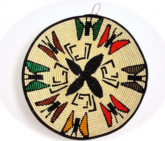 Wounaan & Embera Indian Woven Plate