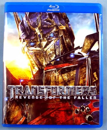 "$20 Transformers ""Revenge"" Used Blu-ray DVD + $15 Serenity Used Blu Ray DVD"