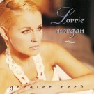 "$16 Lorrie Morgan ""Greater Need"" Hits CD + Bonus Free Country Mix CD"