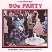 $15 50's Party All Hits CD + Bonus Extra Rock Mix CD $3 Ship 2 CD's First Class