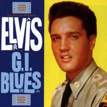 "$17 RARE RCA ELVIS PRESLEY ""G.I. Blues"" Hits CD Not Sony -+ FREE ELVIS MIX CD !"