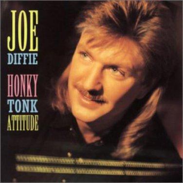 "$17 Joe Diffie ""Honkytonk Attitude"" Hits CD + Bonus Free Country Mix CD"