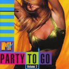$17 MTV Party to Go, Vol. 2 by Various Artists TOP DANCE POP HITS + Free CD !!!
