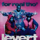 "$17 LEVERT ""For Real Tho'"" Hits CD + Free Bonus SOUL MIXED CD $3 SHIPS TWO CD's"