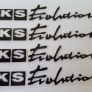 4pc HKS Stickers Decals for JDM Cars