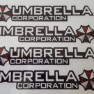 4pc UMBRELLA CORPORATION Stickers Decals for JDM Cars