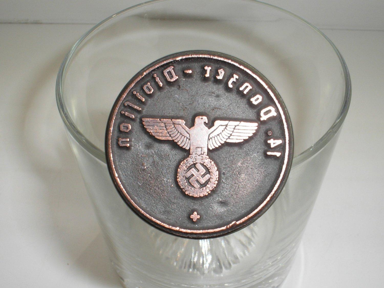 WWII GERMAN STAMP 14. PANZER - DIVISION