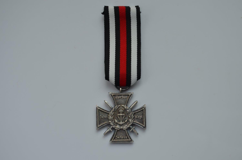 WWI German silver Imperial Naval Corps Flanders Cross