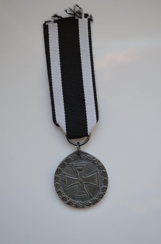 WWI GERMAN MEDAL WELTKRIEG 1914-1918