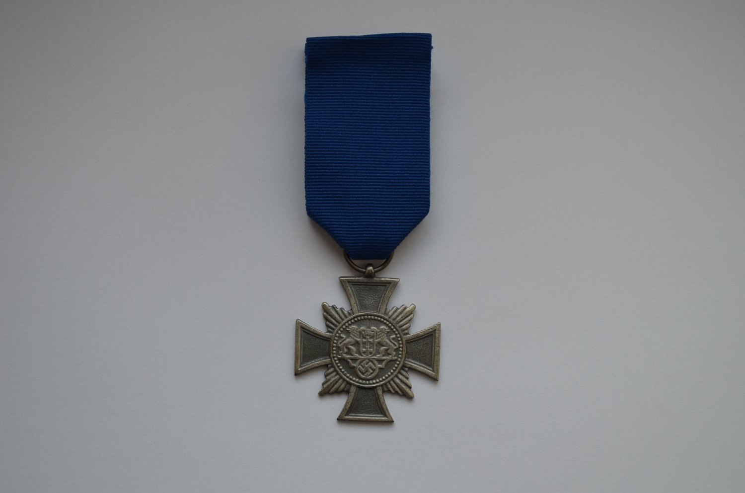 WWII GERMAN CROSS THE LONG SERVICE POLICE DANZIG