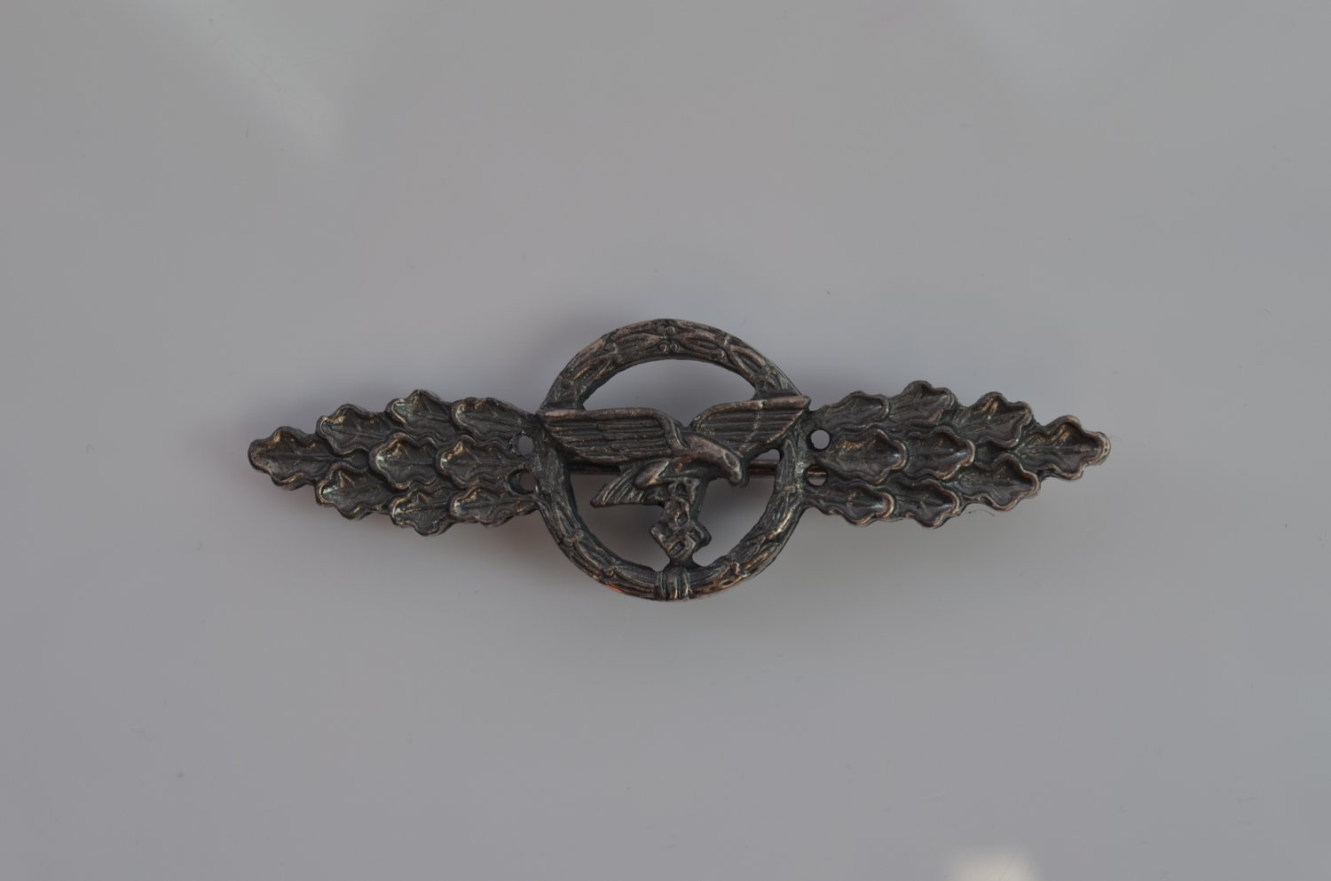 WWII THE GERMAN BADGE LUFTWAFFE TRANSPORT / GLIDER CLASP