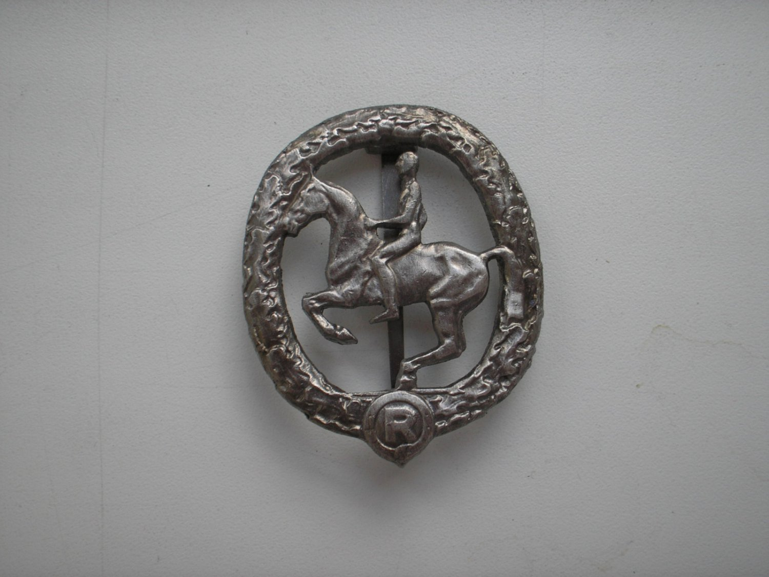 WWII THE GERMAN BADGE HORSEMAN'S