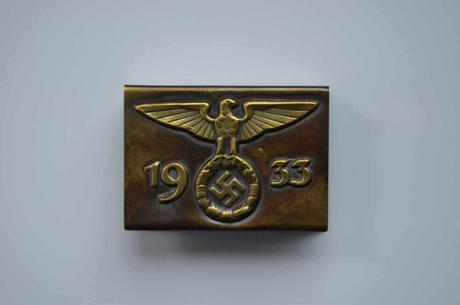 WWII THE GERMAN HOLDER/COVER ON MATCHBOX SA 1933